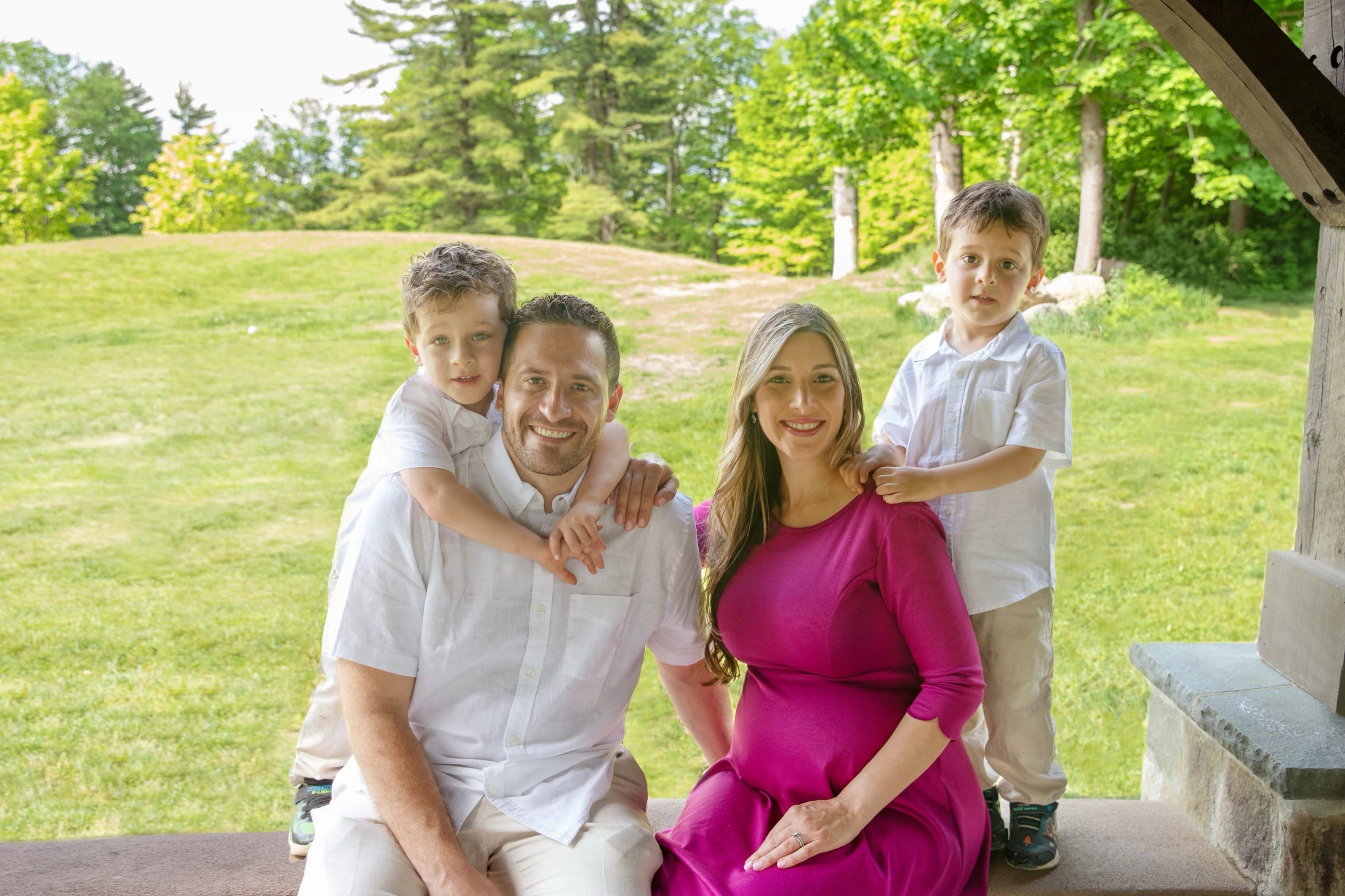 Cr. Angie Cohen and Dr. Yoni Cohen and family